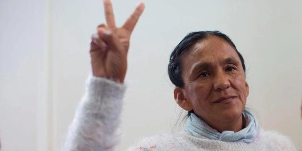 Milagro Sala.