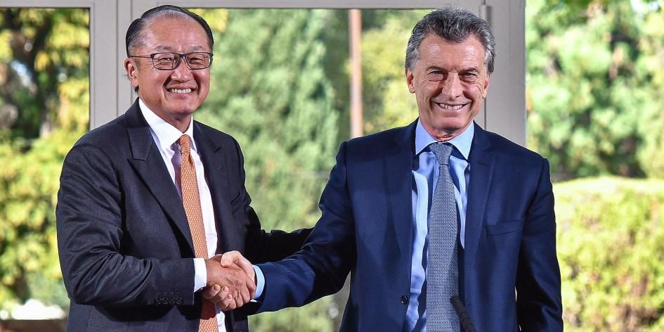 """El presidente del Banco Mundial """"impresionado y entusiasmado por las reformas emprendidas"""" en la Argentina"""