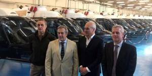 Roma, Italia: Argentina recibe 20 helicópteros comprados a Italia que serán destinados al Ejército.
