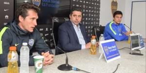 """El técnico de Boca Juniors, Guillermo Barros Schelotto, destacó que su equipo """"sostiene una idea de juego, más allá de las variantes"""" para liderar con"""