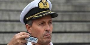 Enrique Balbi, vocero de la Armada, comunicó las novedades de la búsqueda.