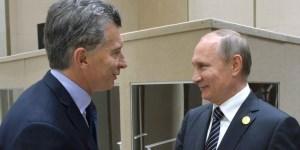 Putin llamará a Macri para ofrecerle ayuda por el ARA San Juan.