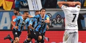 Lanús cayó en Brasil frente a Gremio en la primera final de la Libertadores