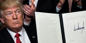 La reforma de Trump divide aguas