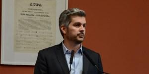 Marcos Peña ofreció una conferencia de prensa luego de la fallida reforma previsional y los hechos acontecidos en la Plaza del Congreso.