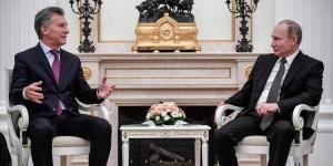 """Para el Presidente fue """"una profunda demostración de afecto"""" la ayuda rusa en la búsqueda del submarino"""