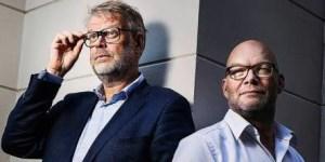 Hjorth y Rosenfeldt empezaron como exitosos guionistas de televisión.