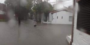 """Realizan """"tareas de prevención y contención"""" por las intensas lluvias en La Plata"""