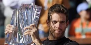 Tras su triunfo en Indian Wells, Del Potro alcanzó el sexto lugar en el ránking