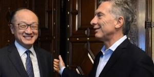 El presidente Mauricio Macri se reunió en la Casa de Gobierno al titular del Banco Mundial, Jim Yong Kim.