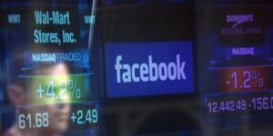 Las acciones de Facebook cayeron un 6,69% tras el incidente por el uso indebido de datos