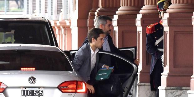 Peña recibe a los jefes parlamentarios de Cambiemos en la Casa Rosada