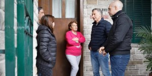 Macri encabezó un nuevo timbreo nacional de Cambiemos