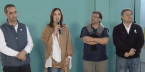 Vidal inauguró una nueva Casa del Encuentro en el barrio Carlos Gardel en Morón