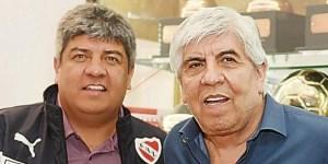 Hugo y Pablo Moyano.