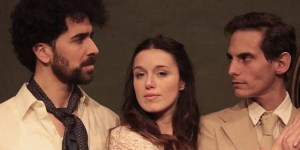 """Con las actuaciones de Anahí Gadda, Nicolás Barsoff y Diego Cassere, """"El corazón del incauto"""" acerca al espectador a un momento de la Argentina rural."""