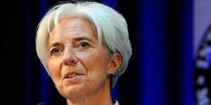 Macri buscó el auxilio de la directora del FMI, Christine Lagarde.