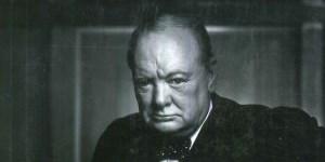 Un torbellino humano: Churchill