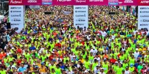 Más de 10 mil personas corrieron la Maratón porteña del año pasado, lo que la convirtió en la que mayor cantidad de participantes en Latinoamérica.