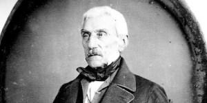 Daguerrotipo de José de San Martín tomado en París en 1848, dos años antes de su muerte, por un fotógrafo anónimo.