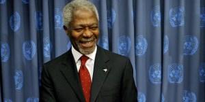 Muere a los 80 años el ex secretario general de la ONU Kofi Annan