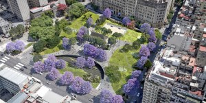 Cómo es el plan para renovar la Plaza Houssay