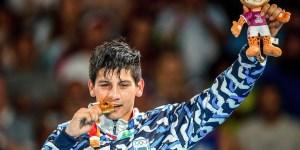 El boxeador Brian Arregui campeón en los Juegos de la Juventud