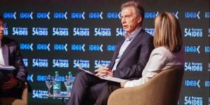 Macri: Lo más frustrante es ver a dirigentes políticos que le mienten a la gente