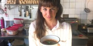 Liza Puglia, dueña de Nola.